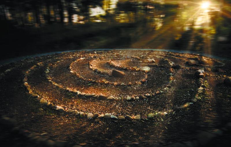 Zen labryrinth