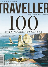 Australian Traveller Magazine Cover
