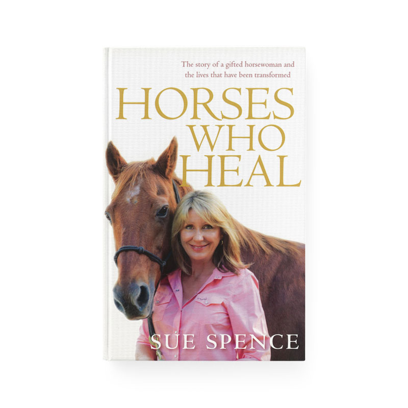 Cover of horses who heal book