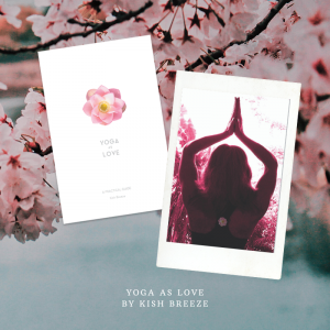Cover and back cover of Yoga as Love book