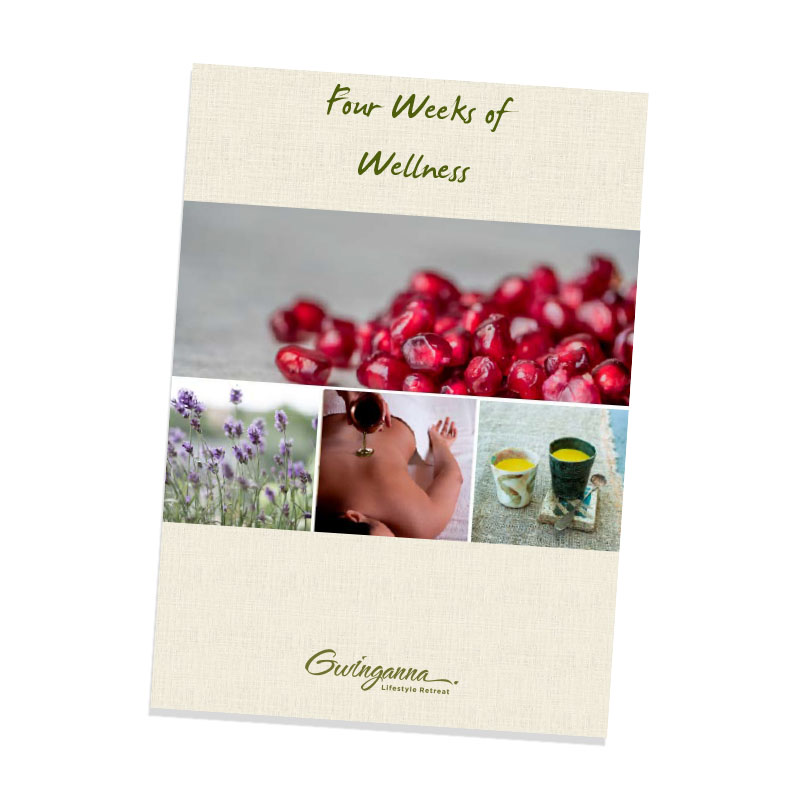 Four Weeks of Wellness book cover