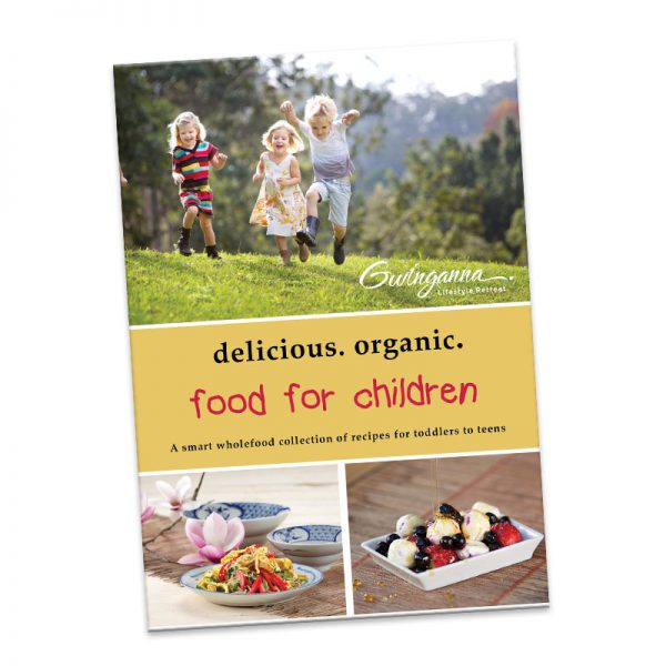 Delicious Organic food for Children book cover
