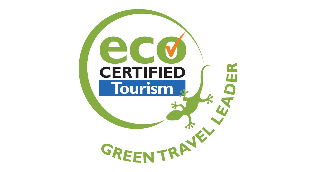 Eco certified tourism logo